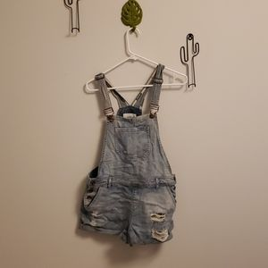 Overall shorts (dungarees)